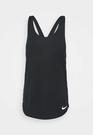 BREATHE TANK COOL - Top - black/reflective silver