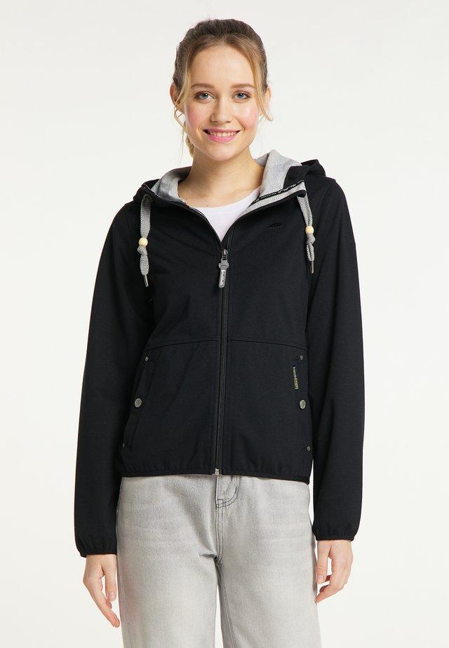 Outdoorová bunda - schwarz