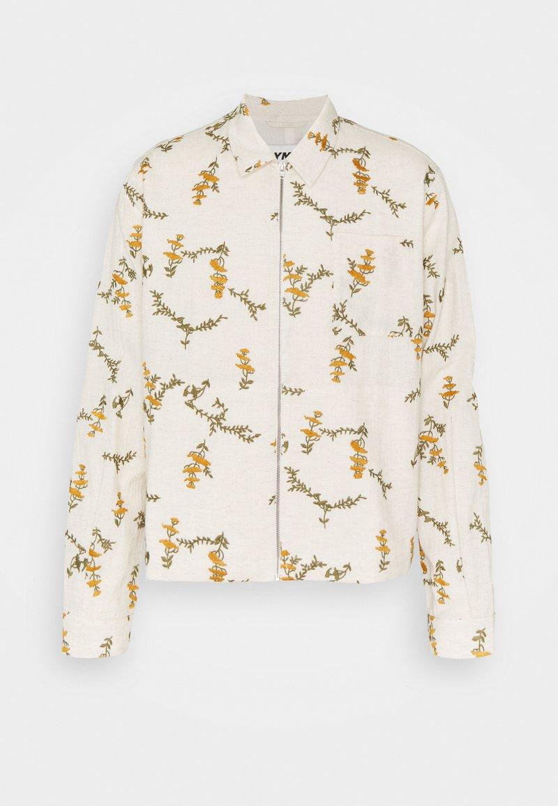 YMC You Must Create - BOWIE ZIP JACKET - Summer jacket - ecru