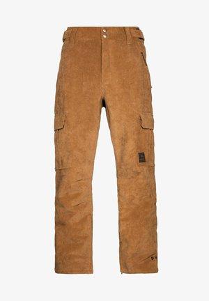 EDGE - Snow pants - beige