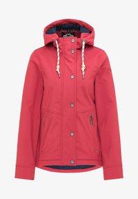Schmuddelwedda - Soft shell jacket - rot - 4