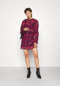 Iro - PASCOT - Mini skirt - fushia/black/red - 1