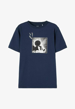MICKEY MAUS - Print T-shirt - dress blues