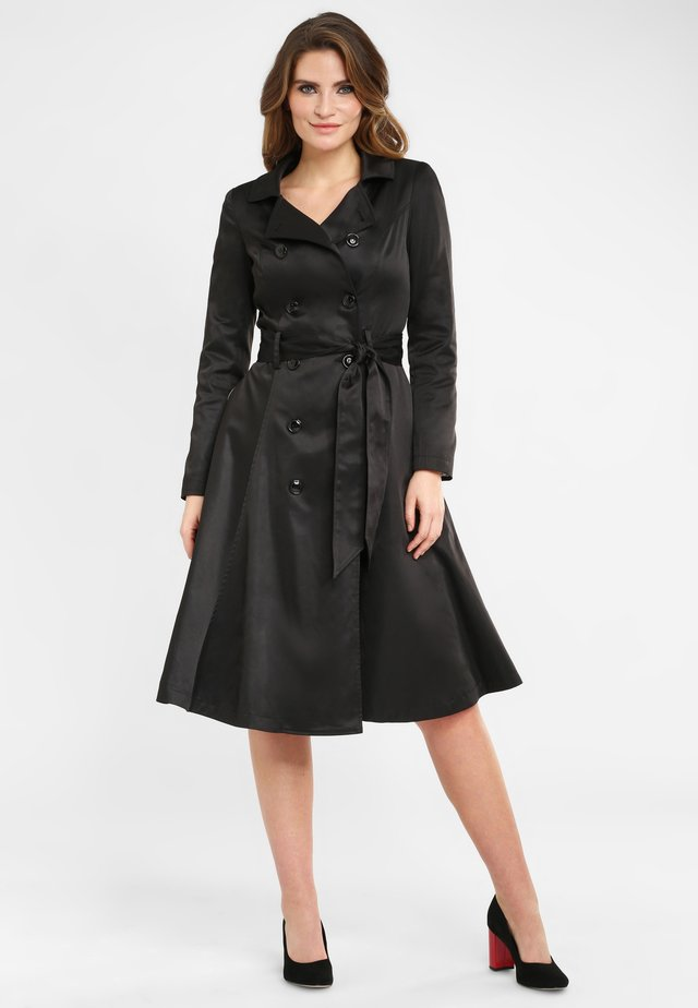 KORRINA - Trench - black