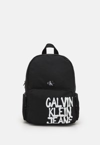 Calvin Klein Jeans - BACK TO SCHOOL BACKPACK UNISEX - Rucksack - black - 0