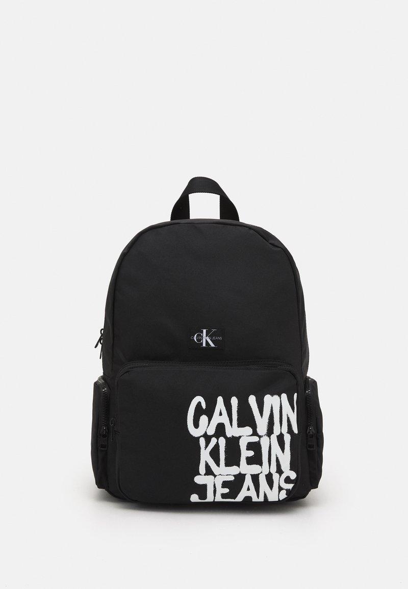 Calvin Klein Jeans - BACK TO SCHOOL BACKPACK UNISEX - Rucksack - black