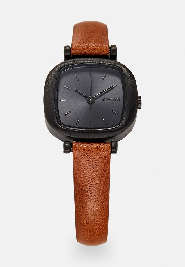 MONEYPENNY - Watch - cognac