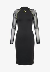 Puma - BODYCON DRESS - Vestido de tubo - black - 3