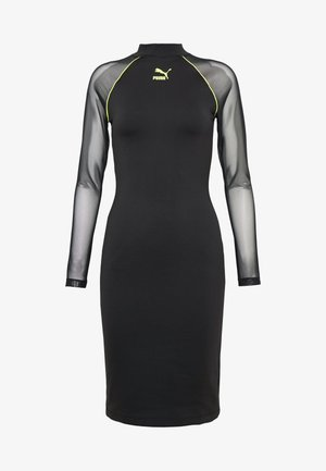 BODYCON DRESS - Shift dress - black