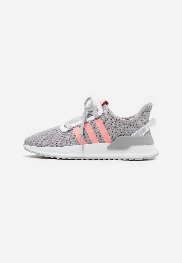 PATH RUN - Sneakers basse - grey two/glow pink/footwear white