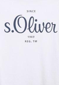 s.Oliver - Print T-shirt - white - 6