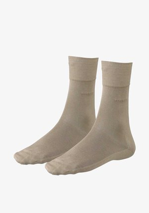 GEORGE RS MERCERISIERTE - Socks - creme - beige