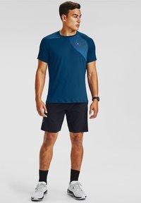 Under Armour - Print T-shirt - blue - 1