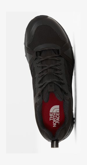 W LITEWAVE FASTPACK II WP - Trainers - tnf black/ebony grey