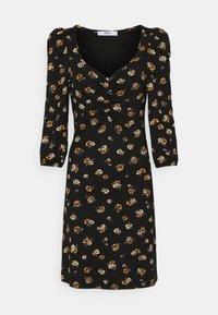 ONLY - ONLMEYA SHORT DRESS - Jersey dress - black - 3