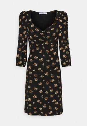 ONLMEYA SHORT DRESS - Jersey dress - black