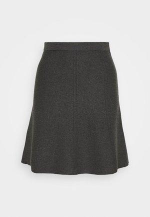 FAVORITE SKIRT SPECIAL - A-line skirt - medium grey