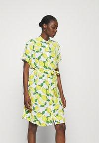 Fabienne Chapot - BOYFRIEND TESS DRESS - Shirt dress - lime lights - 0