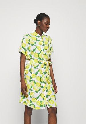 BOYFRIEND TESS DRESS - Shirt dress - lime lights