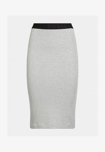 AMY SKIRT - Pencil skirt - hellgrau