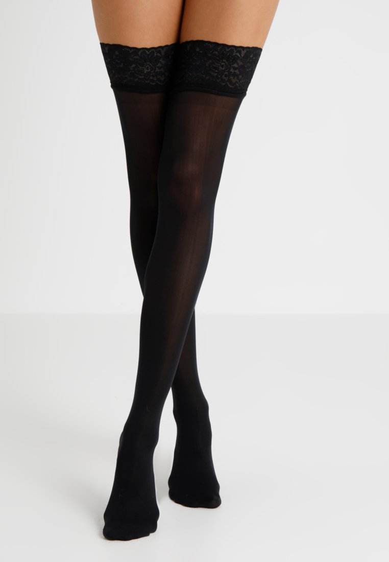 Hunkemöller - Over-the-knee socks - black