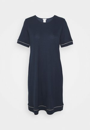 NATURAL COMFORT SLEEVE NIGHTIE - Nightie - deep navy