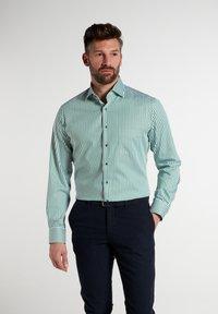Eterna - Shirt - grün/weiss - 0