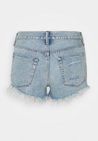 Free People - LOVING GOOD VIBRATIONS - Denim shorts - light denim - 1