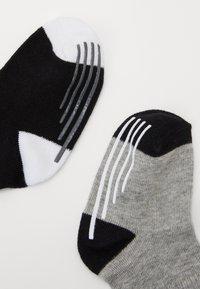 Nike Sportswear - TRACK GRIPPER 3 PACK - Sokken - dark grey heather - 1