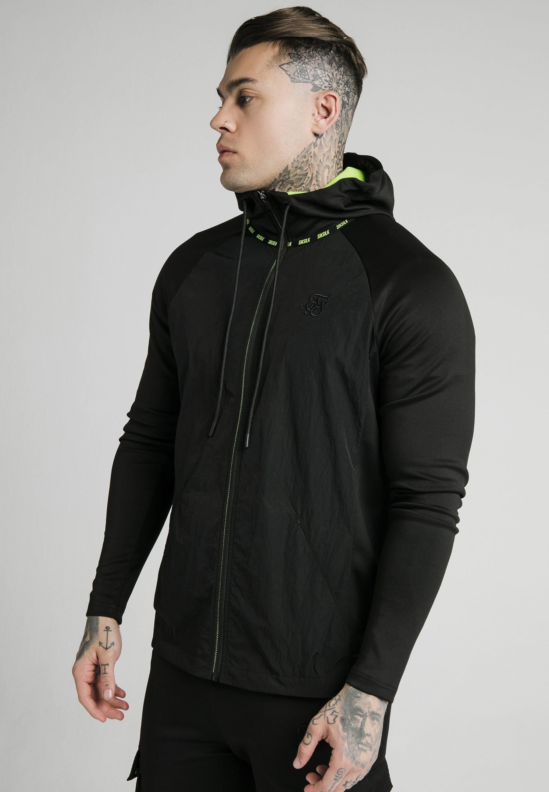 Men ADAPT CRUSHED ZIP THROUGH - Summer jacket