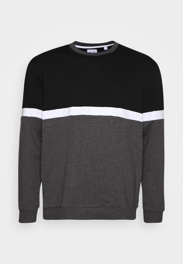ONSNEWKEEFER LIFE CREW NECK - Sweatshirt - black