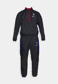 Nike Performance - NBA CITY EDITION TRACKSUIT - Tracksuit - black/rush blue/university red - 6