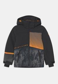 Quiksilver - SILVERTIP UNISEX - Snowboardová bunda - true black parafinum - 0