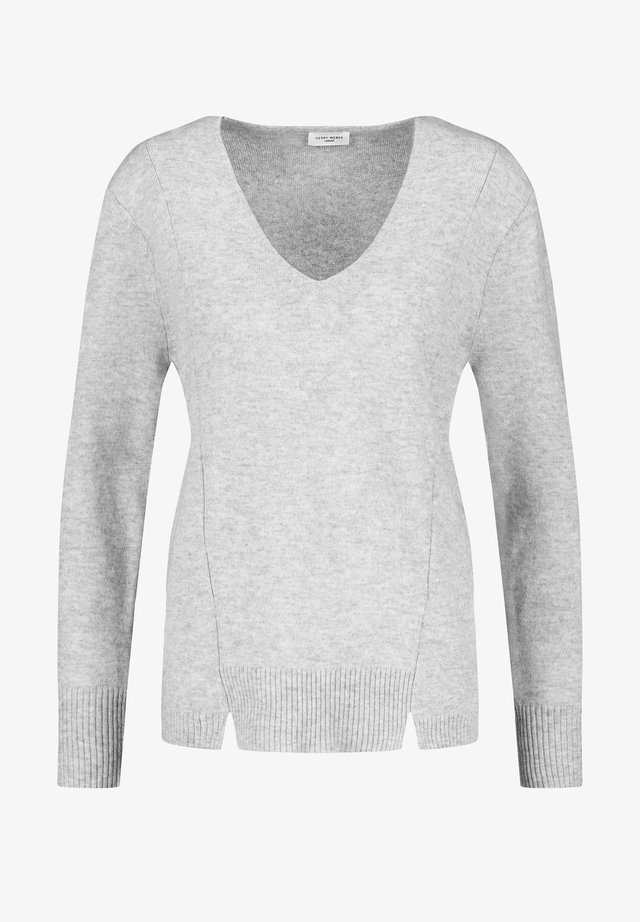 MIT KASCHMIR - Pullover - light grey