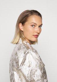 Bruuns Bazaar - LUNAS JACKET - Short coat - white/gold - 5
