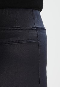 Kaffe - ADA COATED - Leggings - Trousers - midnight marine