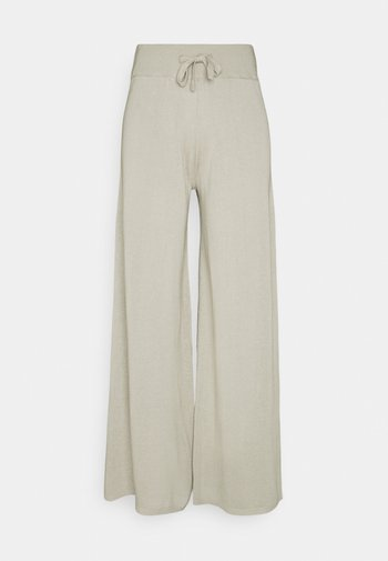 PANTS WOMAN - Trousers - mole grey