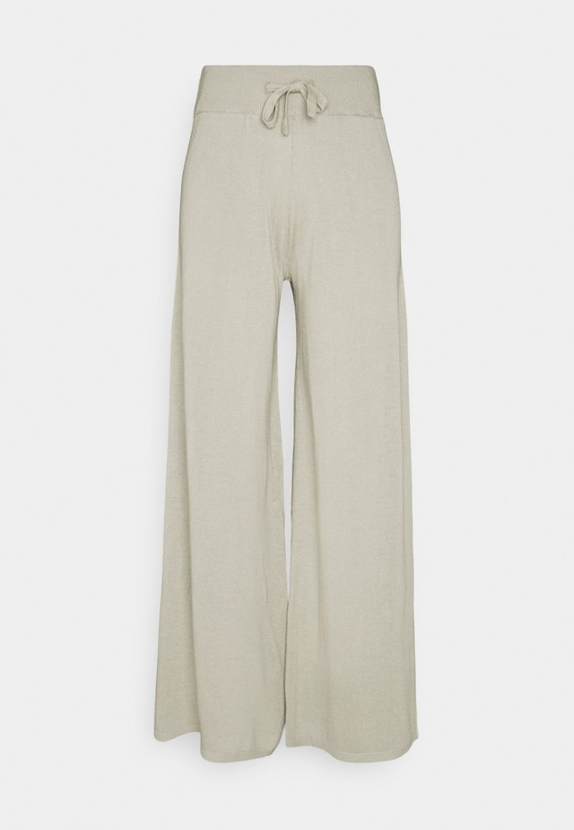 PANTS WOMAN - Pantalones - mole grey