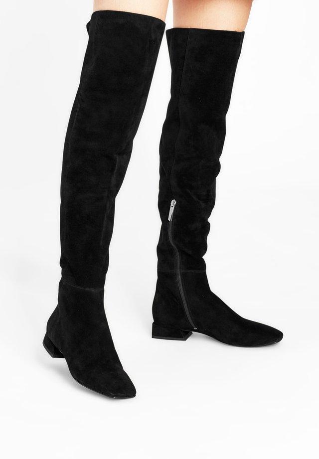 LAUREN OTK - Over-the-knee boots - schwarz