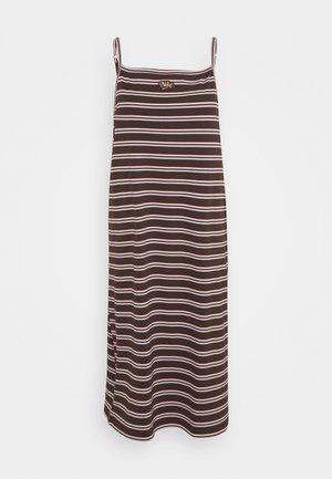 FEMME DRESS MAXI - Vestido informal - baroque brown/metallic gold