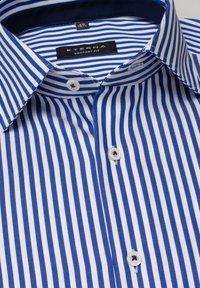 Eterna - COMFORT FIT - Shirt - blau/weiß - 5