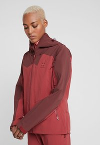 Haglöfs - STIPE JACKET WOMEN - Snowboard jacket - brick red/maroon red - 0