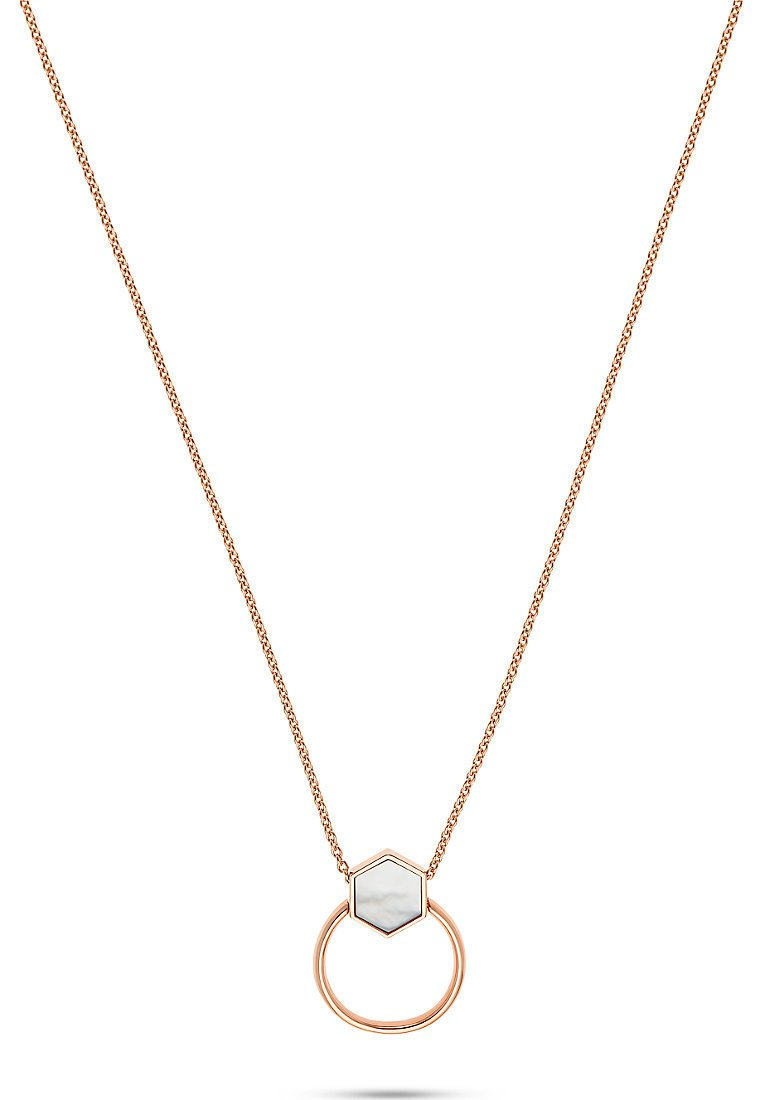 JETTE - LUCKY CHARM - Necklace - roségold-coloured