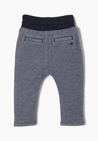 s.Oliver - Tracksuit bottoms - dark blue melange - 1