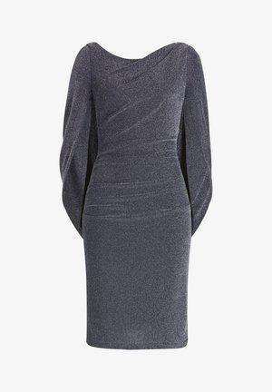 Cocktail dress / Party dress - dark blue/silver