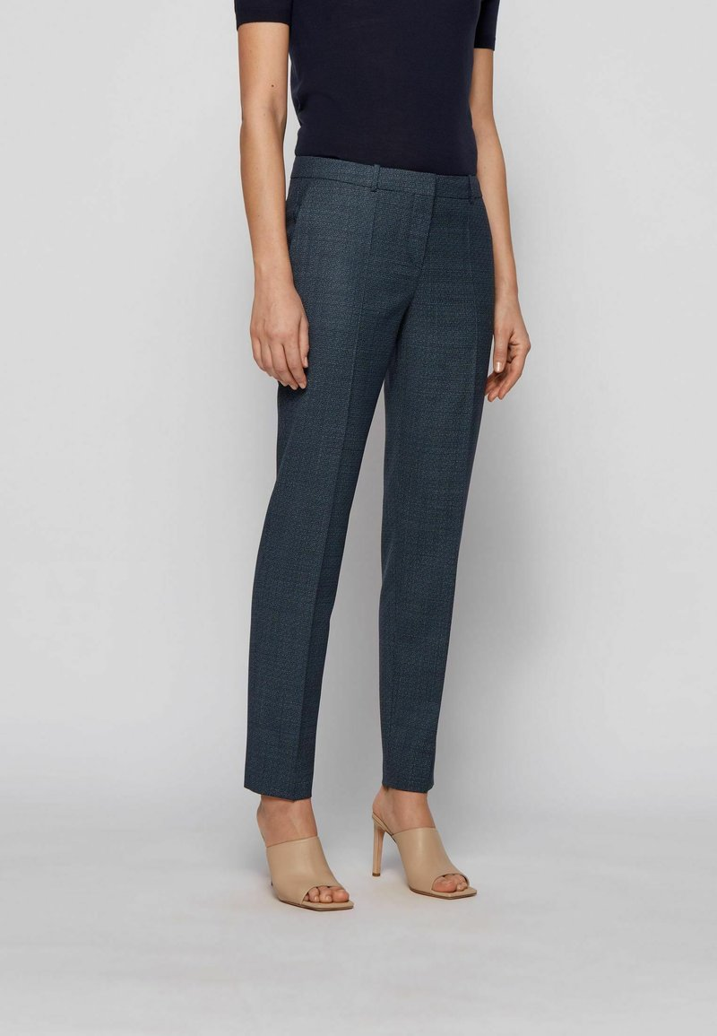 BOSS - TILUNA - Trousers - patterned