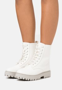 Even&Odd - Platform ankle boots - offwhite - 0