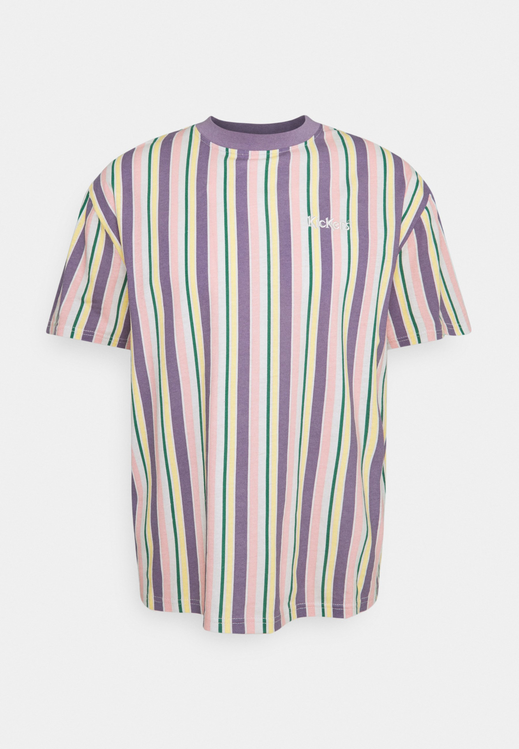 Men VERTICAL STRIPE TEE - Print T-shirt