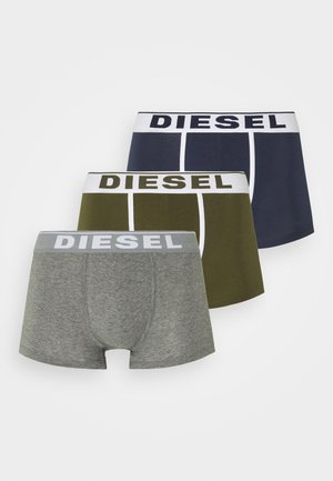 DAMIEN 3 PACK - Pants - green/blue/grey