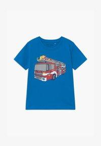 Blue Seven - SMALL BOYS - Print T-shirt - cyan - 0